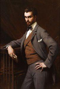 James Hayzen Hyde (1876 - 1959) Standing portrait