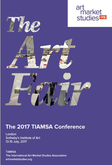 Tiamsa Conference 2017 The International Art Market Studies